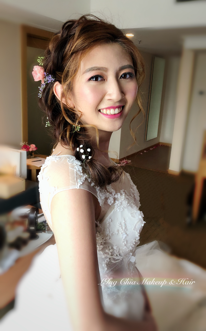 Brides by LING Chia Makeup & Hairstyling - 014