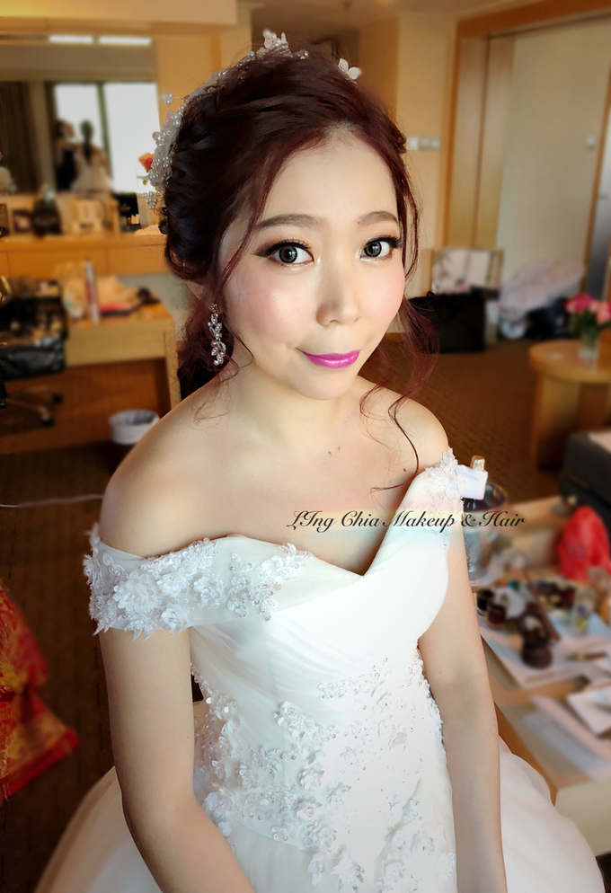 Brides by LING Chia Makeup & Hairstyling - 021