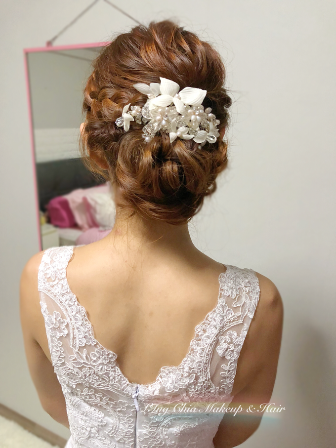 Brides by LING Chia Makeup & Hairstyling - 030
