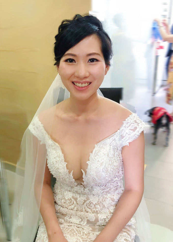 Brides by LING Chia Makeup & Hairstyling - 043