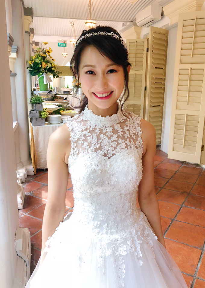 Brides by LING Chia Makeup & Hairstyling - 047
