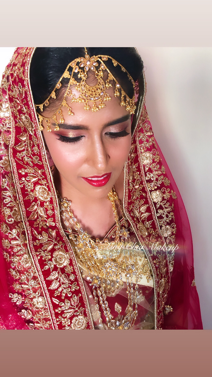Brides styling by LING Chia Makeup & Hairstyling - 005