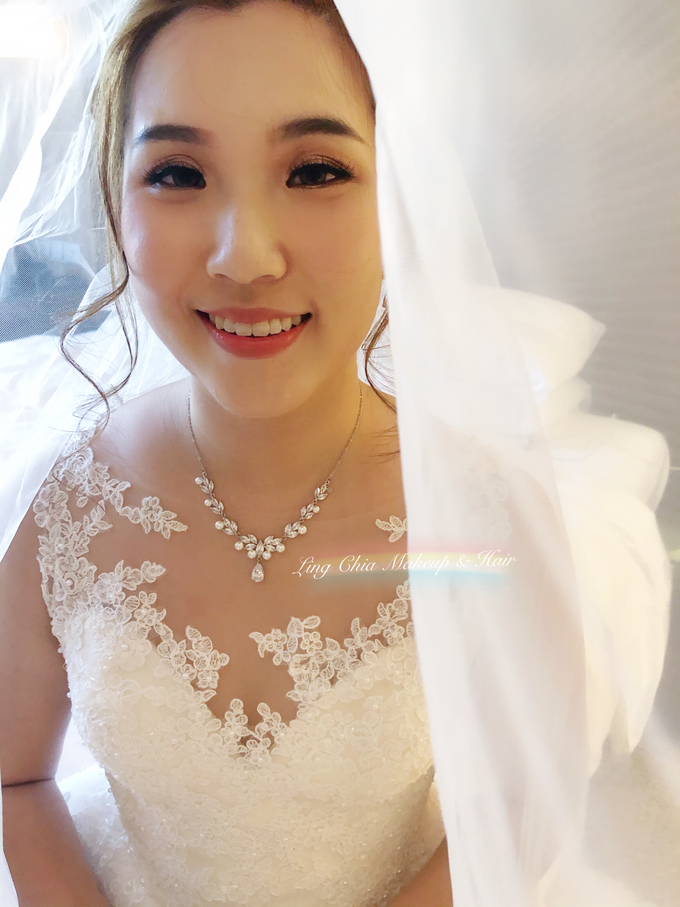 Brides styling by LING Chia Makeup & Hairstyling - 007