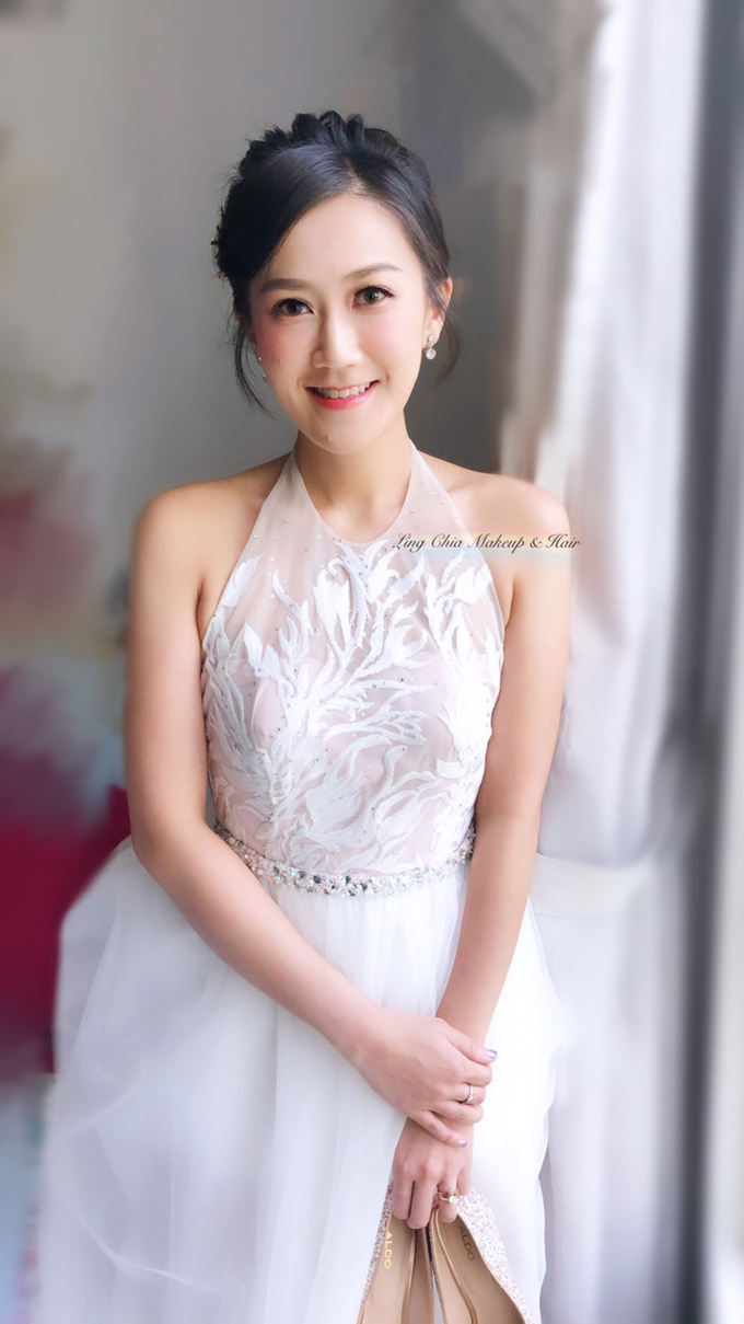 Brides styling by LING Chia Makeup & Hairstyling - 010