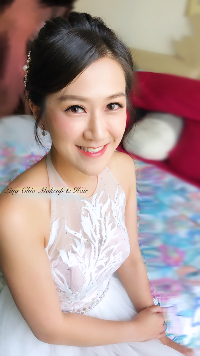 Brides styling by LING Chia Makeup & Hairstyling - 011