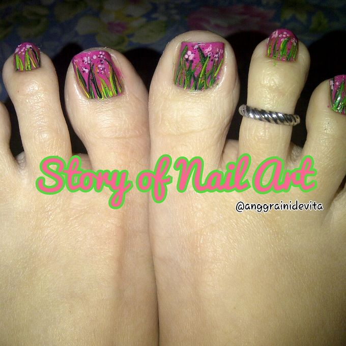 Painting Nails by Story of Nailart - 017