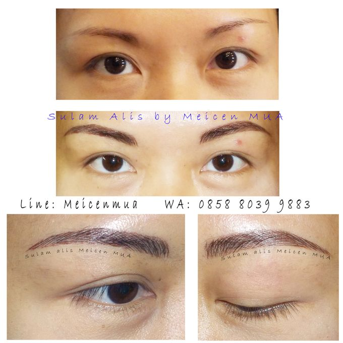 eyebrow embroidery sulam alis by Xin-Ai Bride - 004