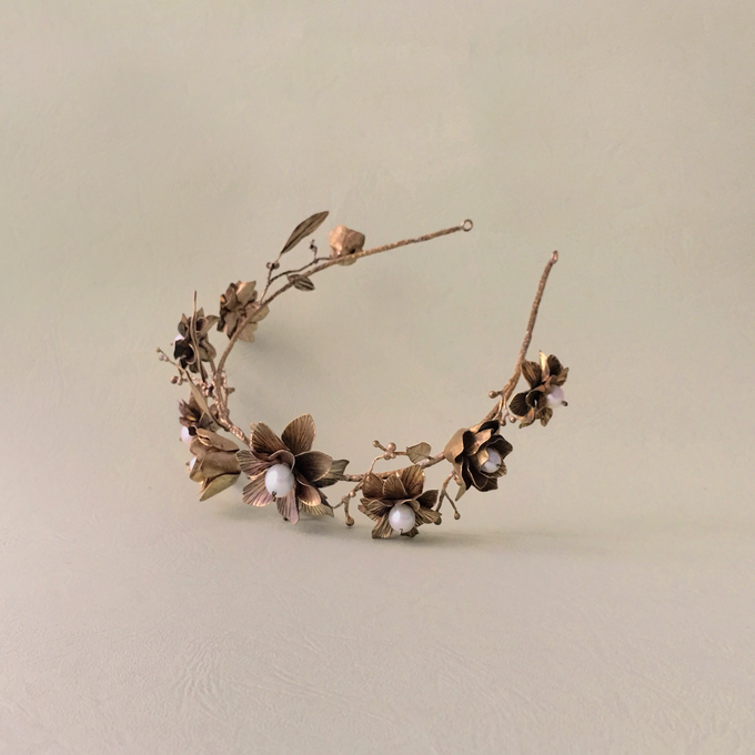 Wedding Hairpiece by LITANY - 033