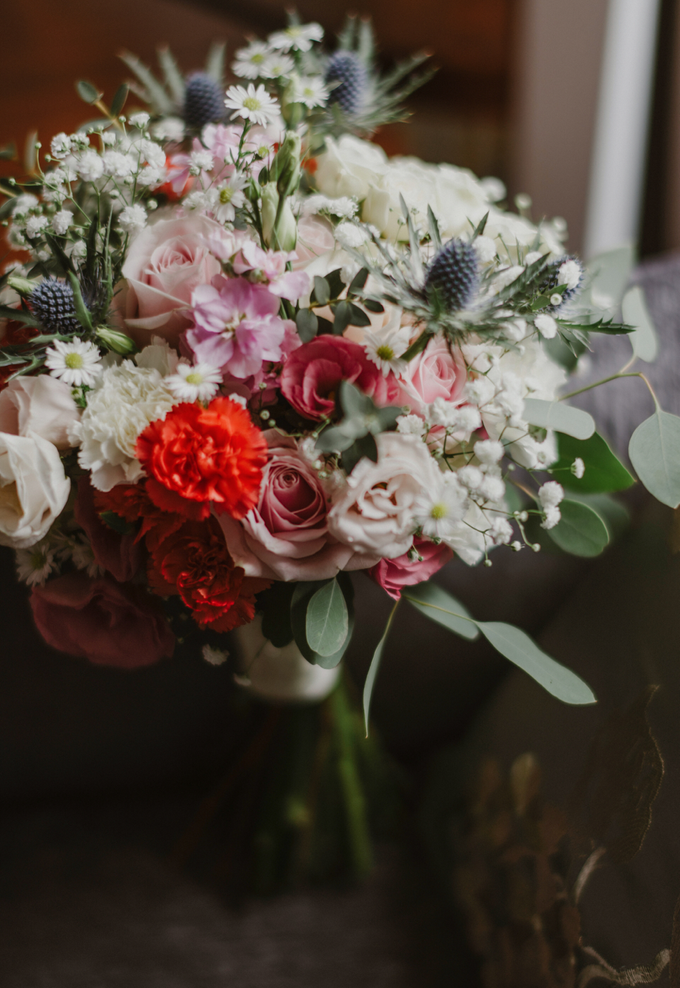 Reena & Paul's Rustic Wedding by Liz Florals - 001