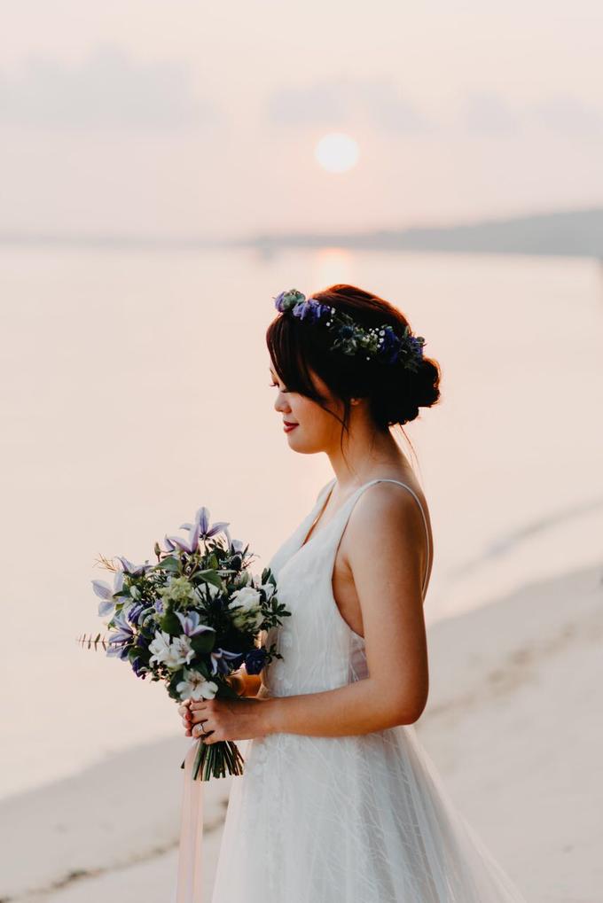 Whimsical Lavender Theme Prewedding by Liz Florals - 001