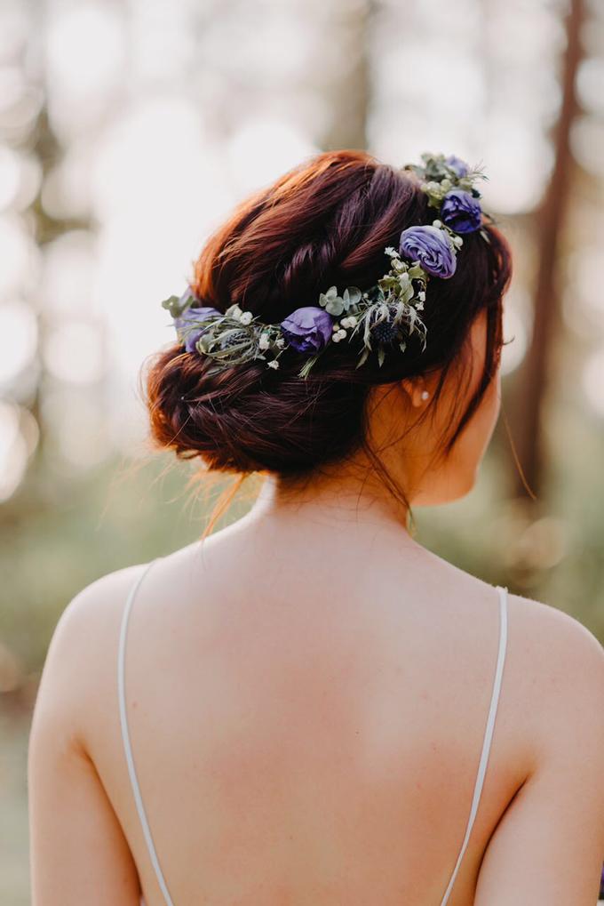 Whimsical Lavender Theme Prewedding by Liz Florals - 003