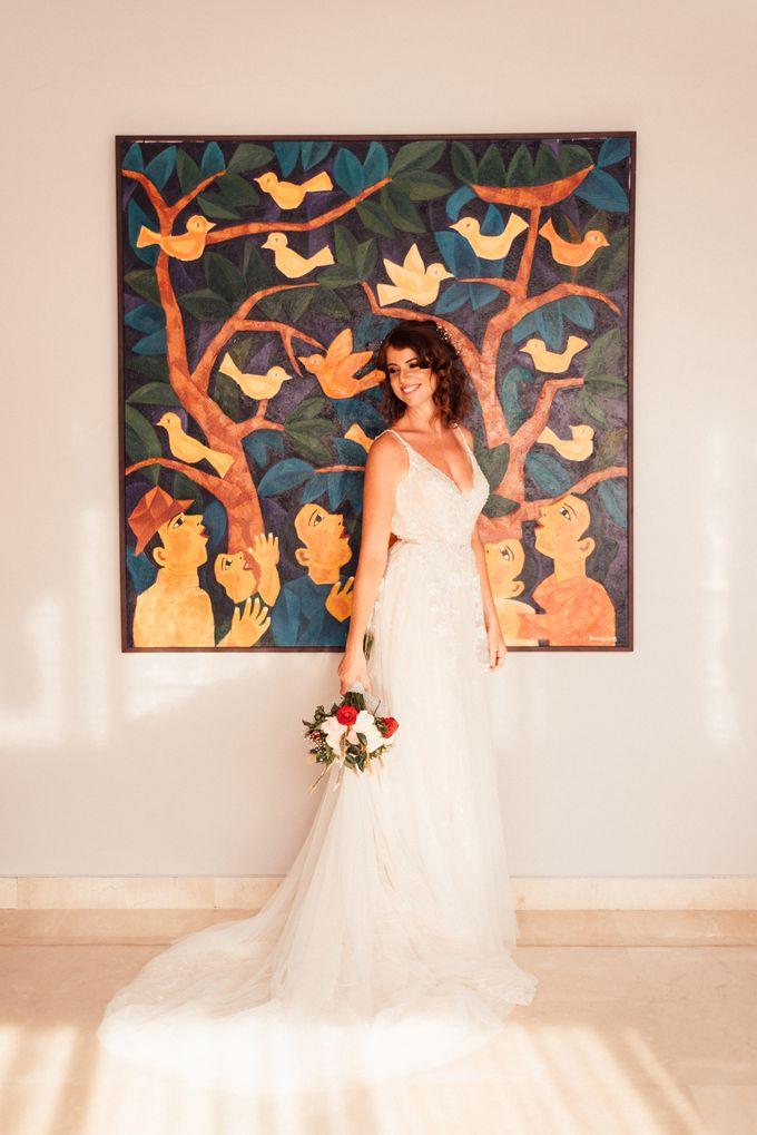 Lizzy & Sean Wedding in Bali by Dedot Photography - 004