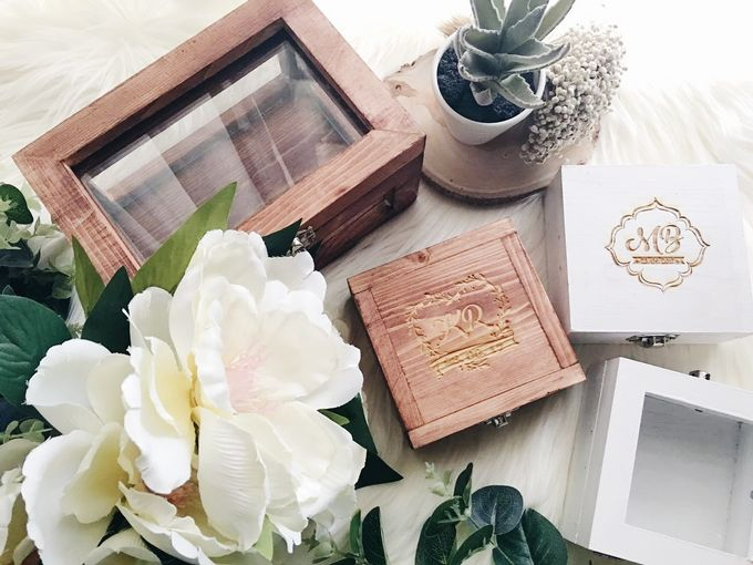 Wedding Ring Box by Primrose Floral Design - 030