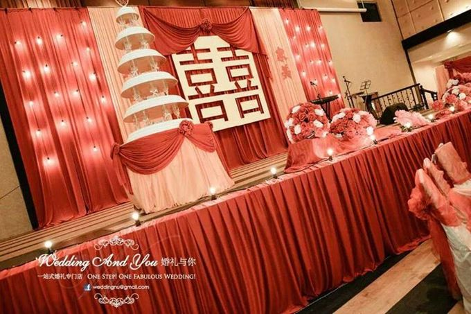 Oriental Wedding Decoration Theme by Wedding And You - 040
