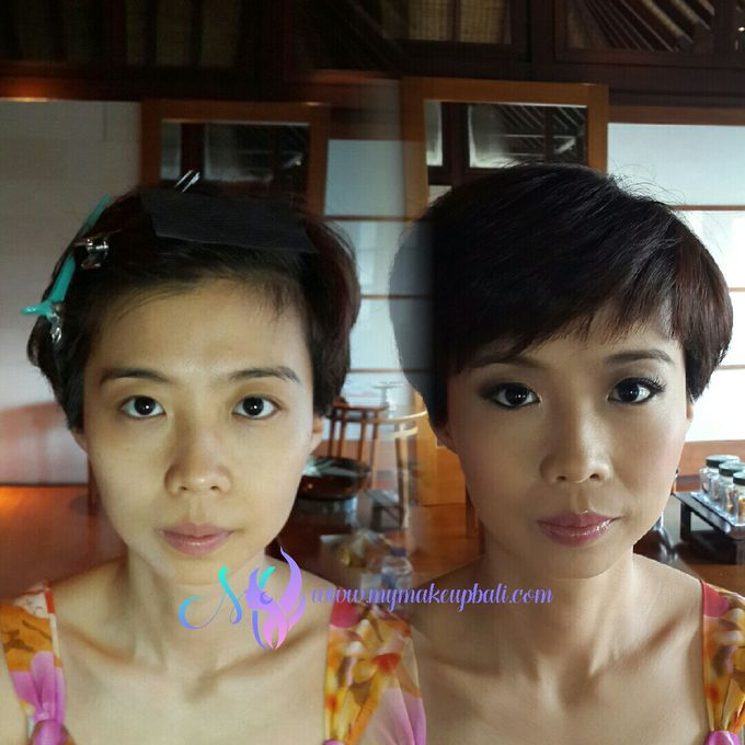 Before & After by Yenny Makeup Artist - 001