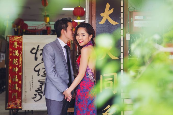 Pre-wedding shoot♥Jonas And Jolin by Gin Tan makeup artist - 007