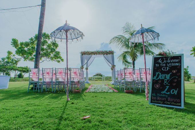 Daryl & Loi Wedding by Holiday Inn Resort Baruna Bali - 001