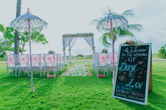 Daryl & Loi Wedding by Holiday Inn Resort Baruna Bali - 007