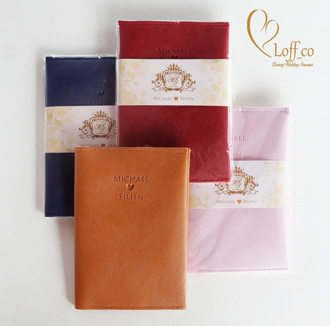 Functional Pouch, Passport & Card Holder by Loff_co souvenir - 035