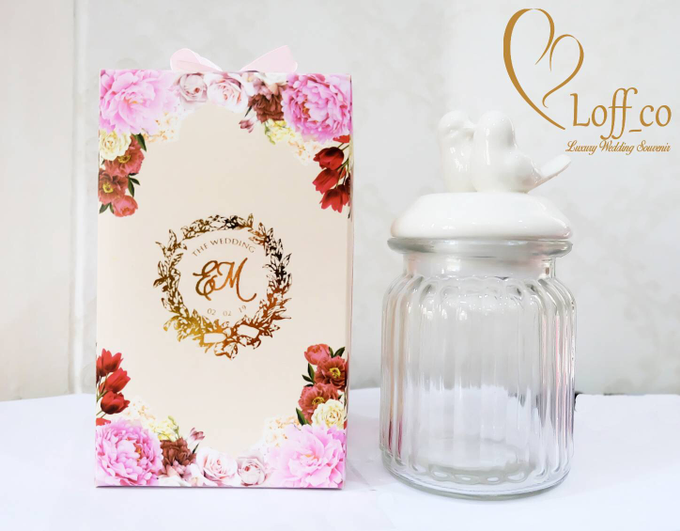 Luxury Crystal Grid & Ceramic Jar by Loff_co souvenir - 017