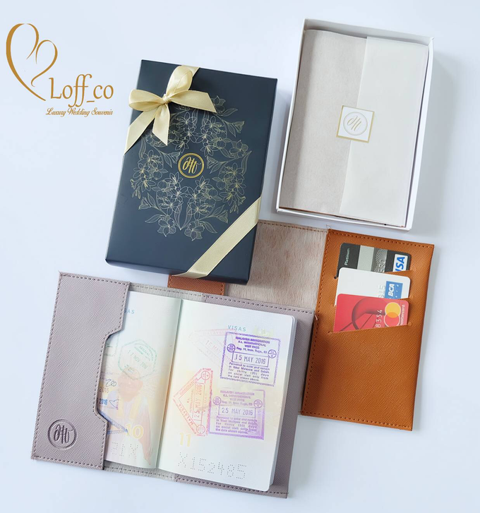 Functional Pouch, Passport & Card Holder by Loff_co souvenir - 036