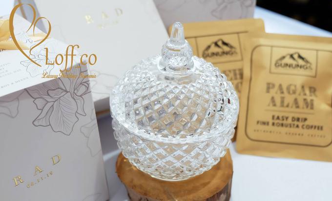 Luxury Crystal Grid & Ceramic Jar by Loff_co souvenir - 021