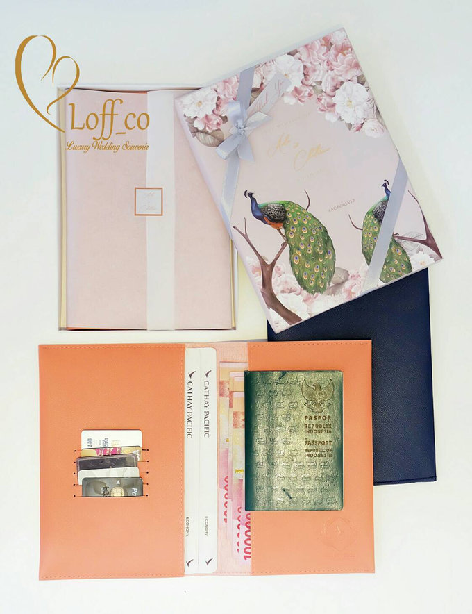 Functional Pouch, Passport & Card Holder by Loff_co souvenir - 046