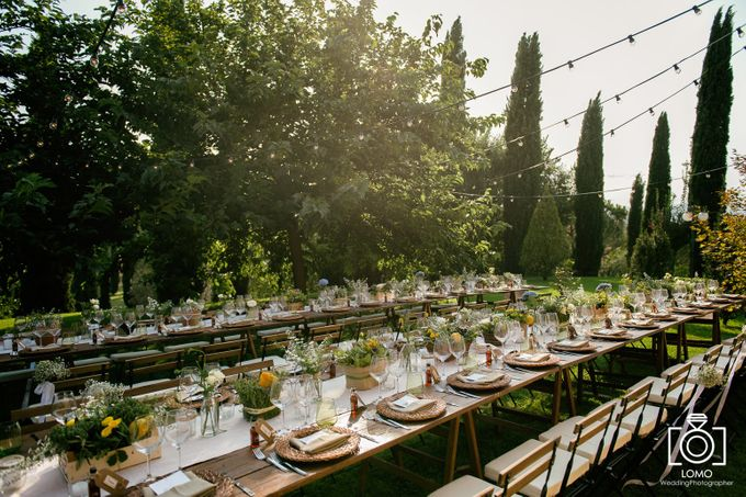 Country Chic wedding in Umbria by C&G Wedding and Event Designer - 003