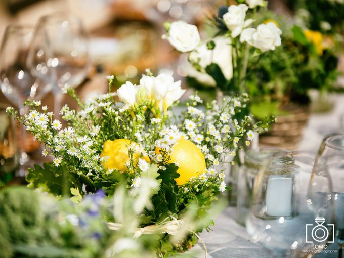 Country Chic wedding in Umbria by C&G Wedding and Event Designer - 005