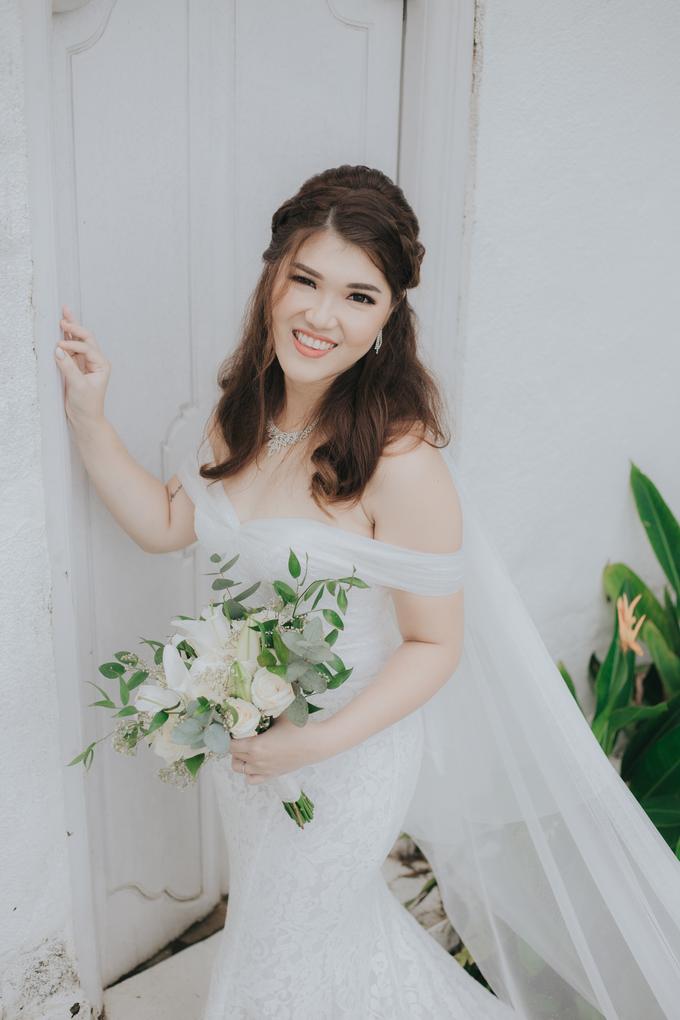 Monica wedding by Loresa Mua - 002