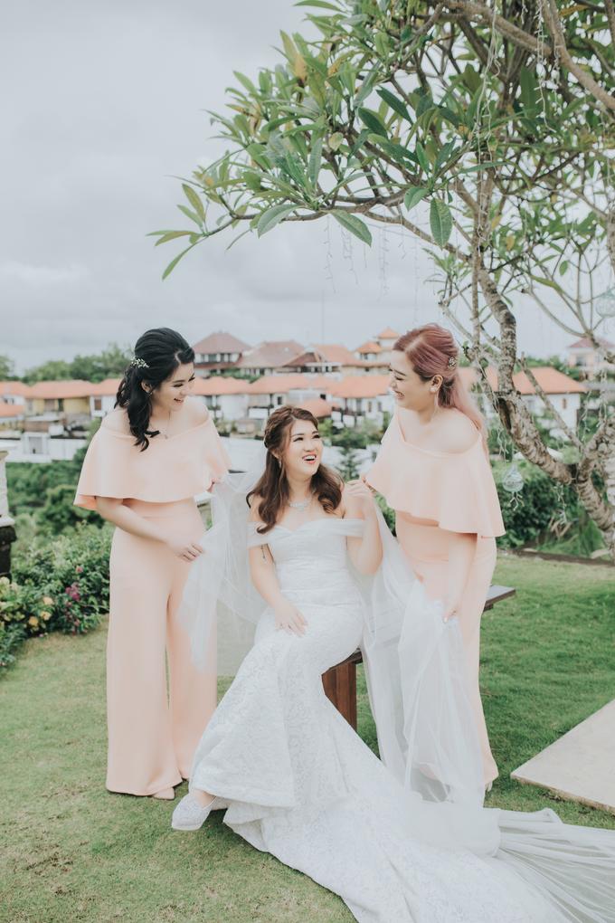 Monica wedding by Loresa Mua - 009