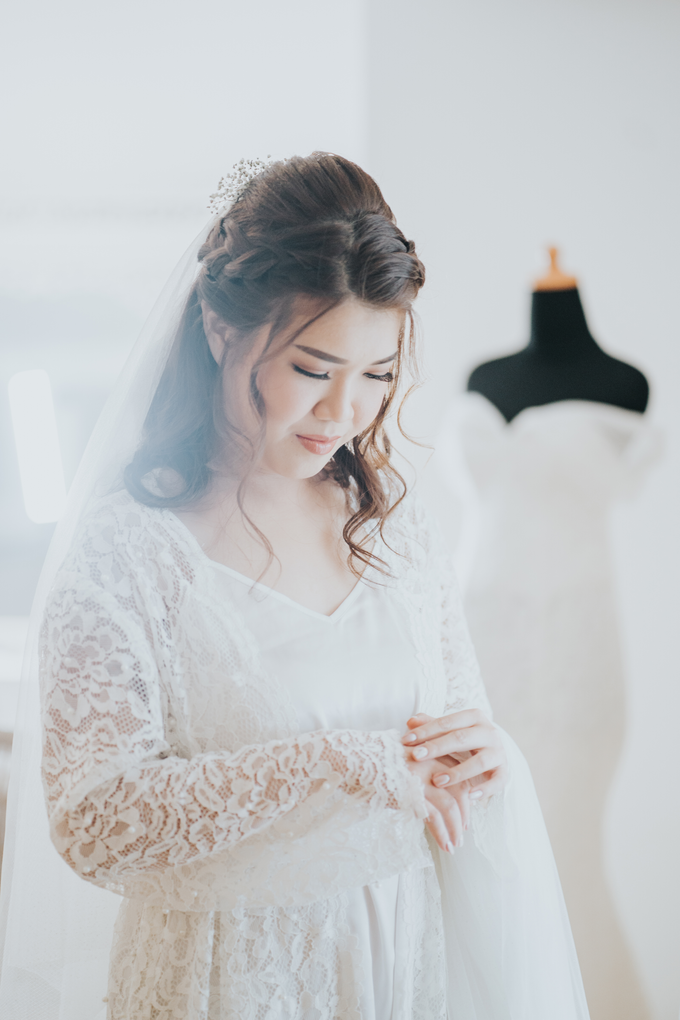 Monica wedding by Loresa Mua - 014