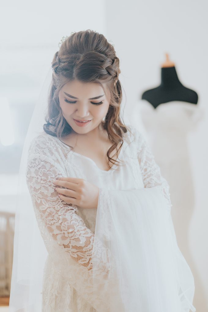 Monica wedding by Loresa Mua - 015
