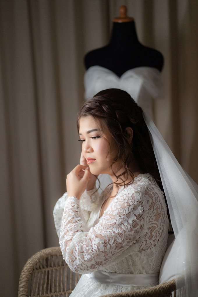 Monica wedding by Loresa Mua - 022