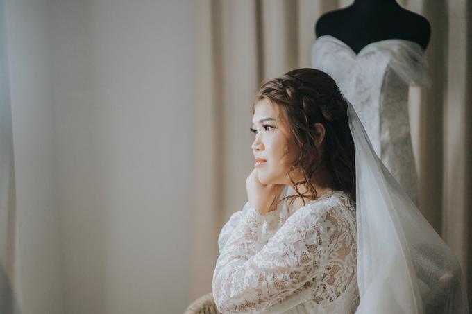 Monica wedding by Loresa Mua - 023