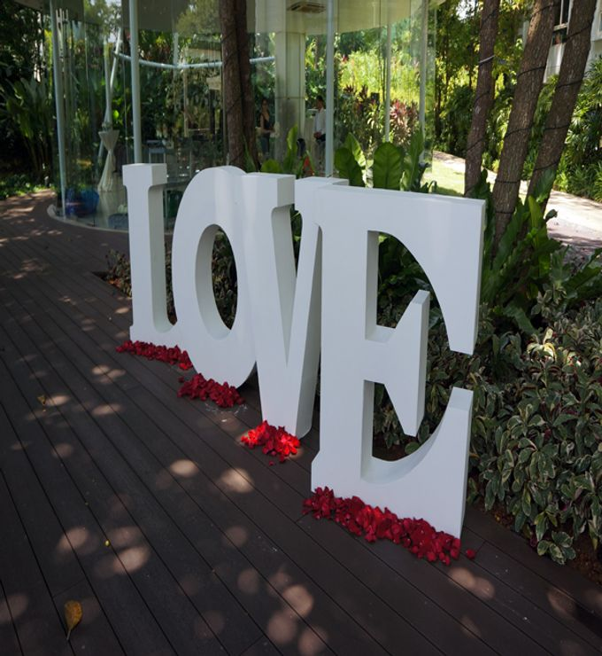 Wedding at Amara Glass Pavilion by The Olive 3 (S) Pte Ltd - 002