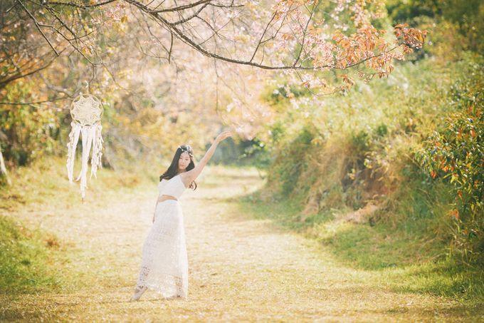 Kew Mae Pan pre wedding in Chiangmai by Lovedezign Photography - 009