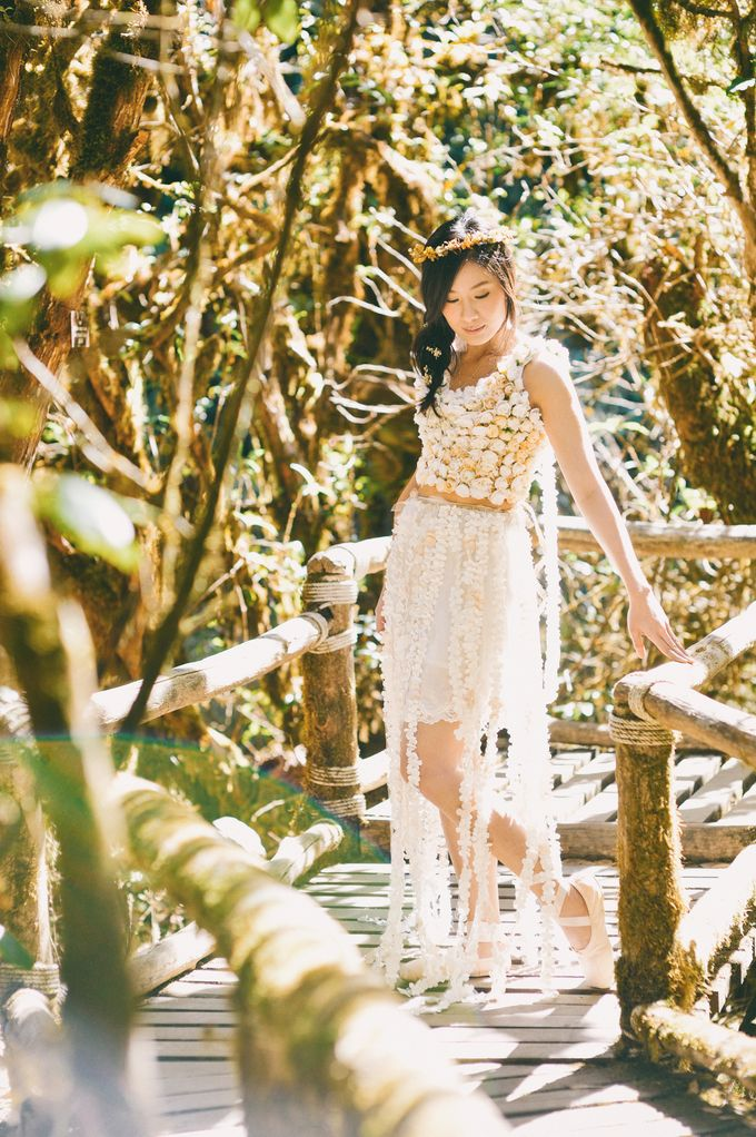 Kew Mae Pan pre wedding in Chiangmai by Lovedezign Photography - 013