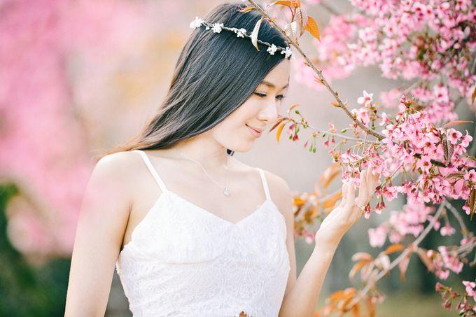 Kew Mae Pan pre wedding in Chiangmai by Lovedezign Photography - 006