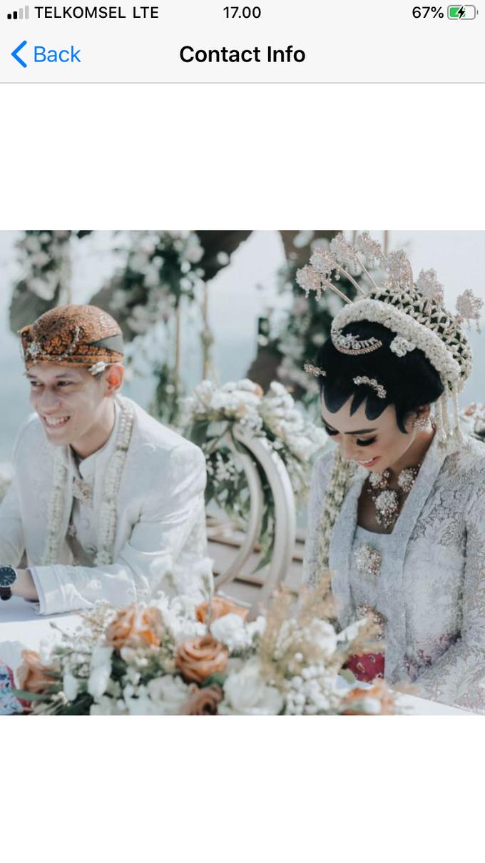 Modern intimate wedding by Lovemedecor.id - 018