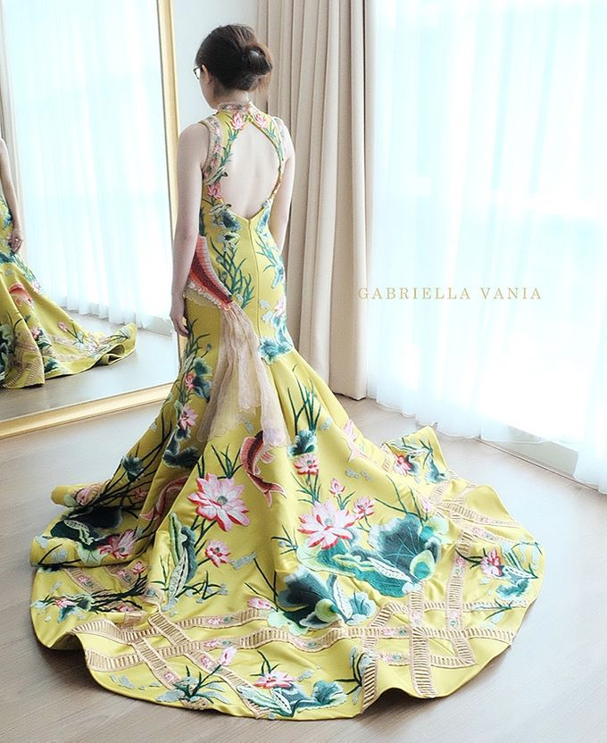 Cheongsam Embroidery - GV HERITAGE by GV by Gabriella Vania - 013