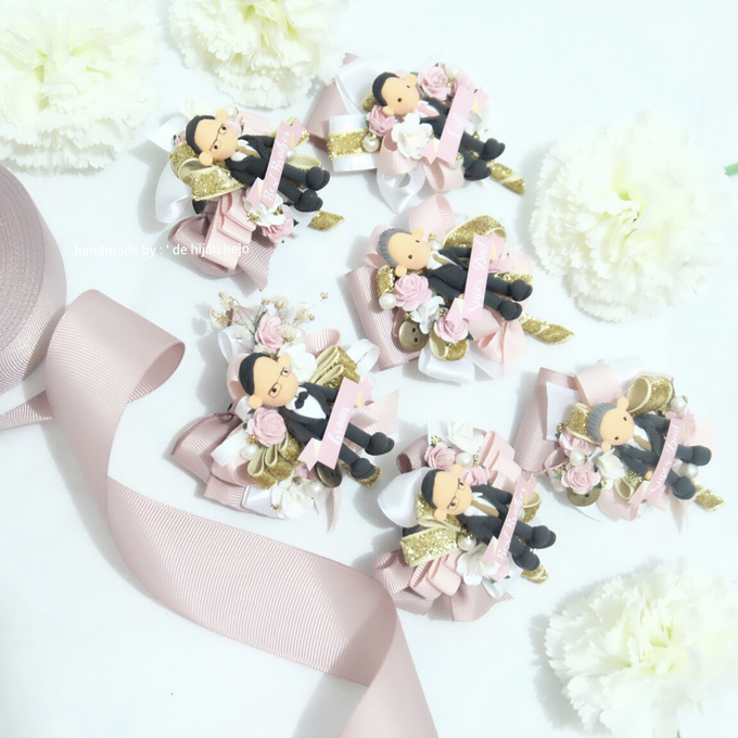 Blush Colour For Corsage And Wristband by de hijau hejo - 001