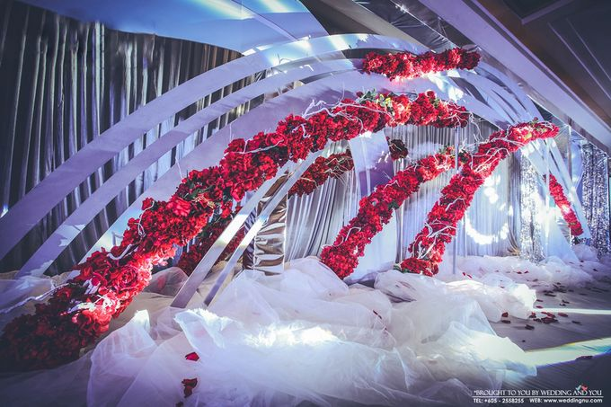Unique Themed Wedding Decoration by Wedding And You - 006
