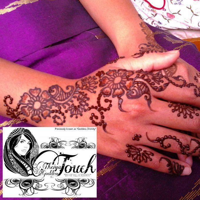 Henna Artwork Designing by Theiya Goddess Touch - 010