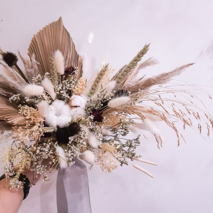 Dried Flower Bouquet by Tiffany's Flower Room - 012
