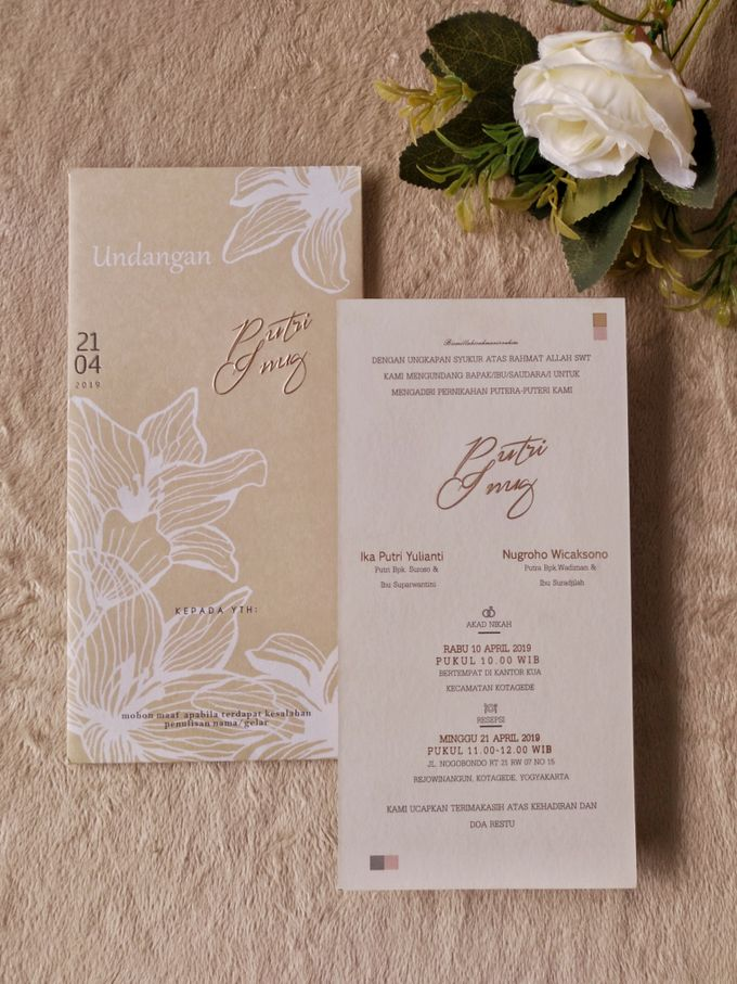 Putri & Inung - Soft Cover Envelope Custom by Keeano Project - 003