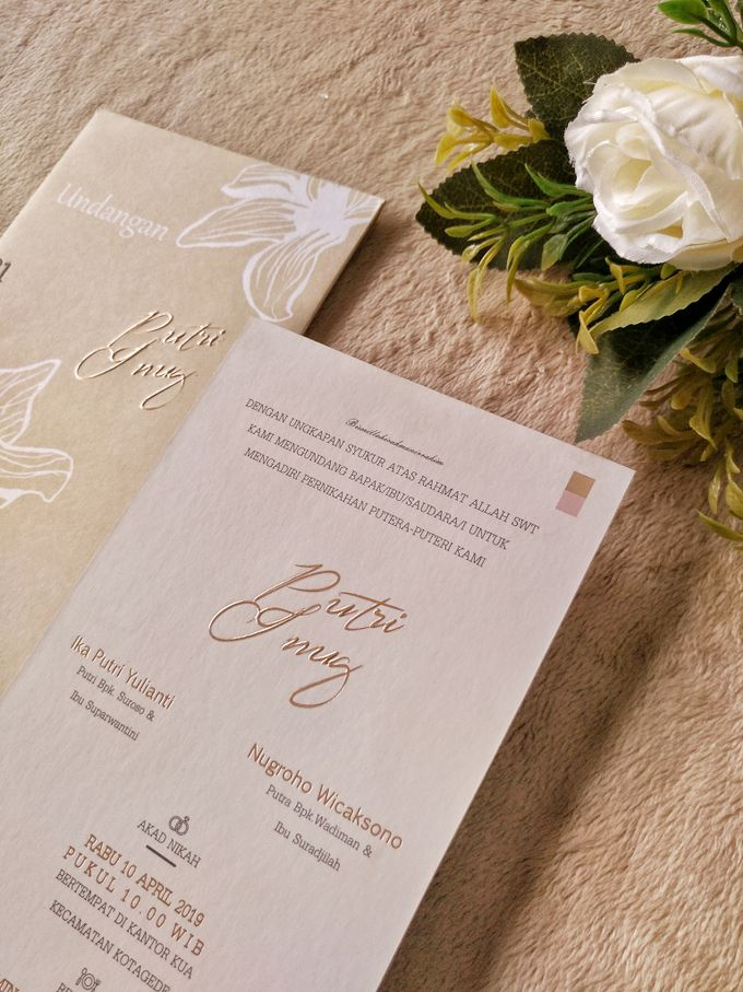 Putri & Inung - Soft Cover Envelope Custom by Keeano Project - 001