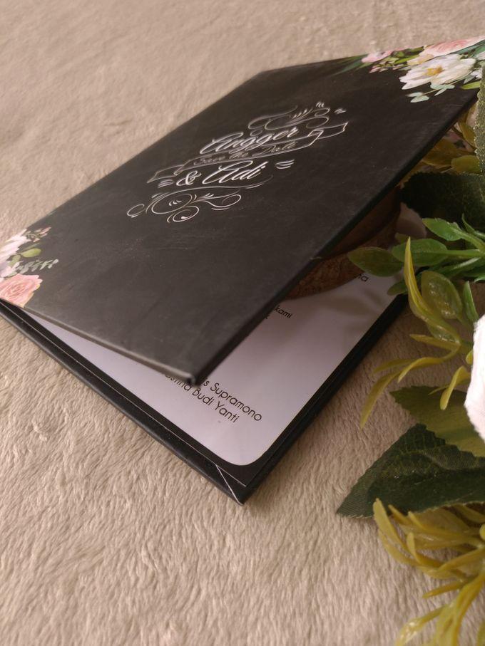Angger & Adi - Invitation Hard Cover Folded by Keeano Project - 002