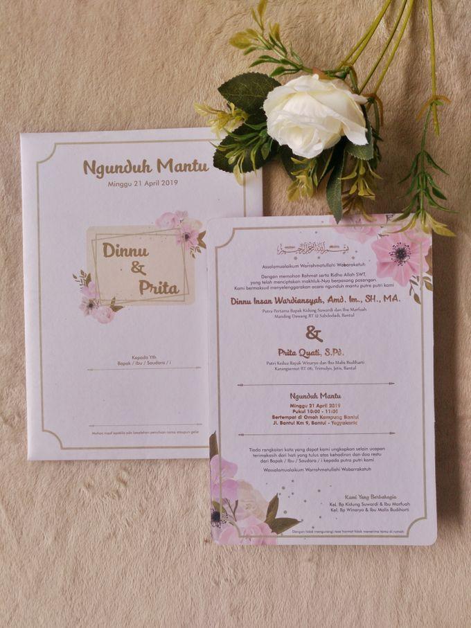 Dinnu & Prita - Invitations Hard Cover Cutting by Keeano Project - 001