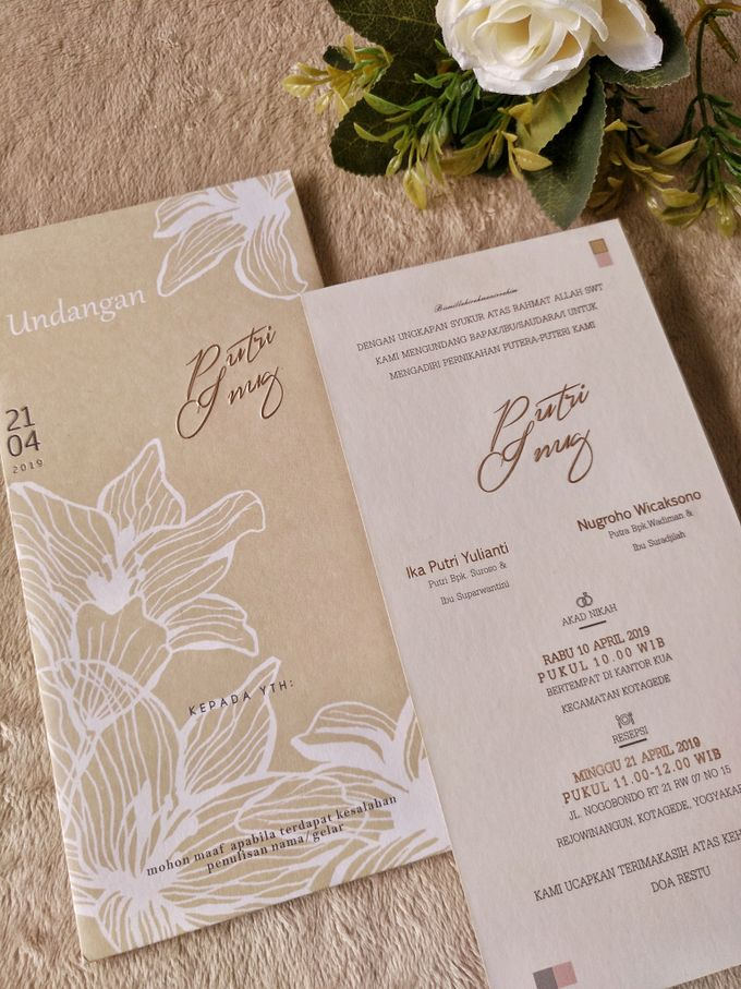 Putri & Inung - Soft Cover Envelope Custom by Keeano Project - 002